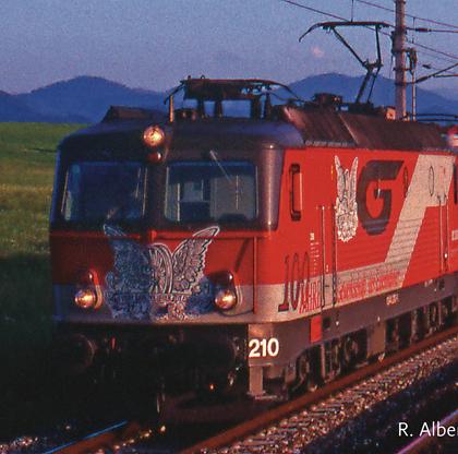 OBB 100 year Gewerkscaft der Eisenbahner -  Fleischmann 736604