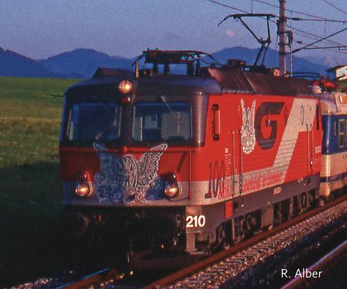OBB 100 year Gewerkscaft der Eisenbahner –  Fleischmann 736604 1