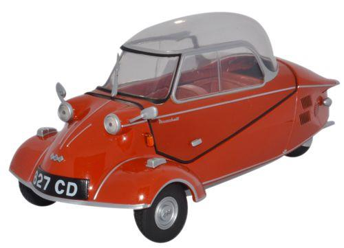 Messerschmitt KR200 Bubble Car Rouge Sarde – Oxford Diecast 18MBC001 1