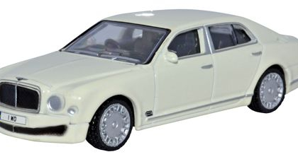 Bentley Musanne White - Oxford Diecast OD7BM001