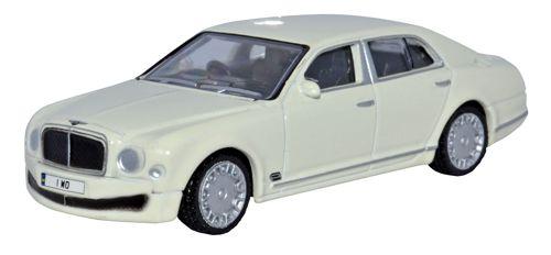 Bentley Musanne White - Oxford Diecast OD7BM001