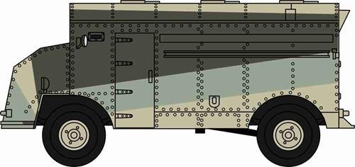 Dorchester ACV Caunter Scheme 2nd Armoured Division - Oxford Diecast 76DOR002