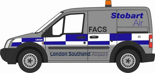 Stobart Air Ford Transit Connect  – Oxford Diecast 76FTC006 1
