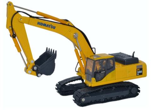 Komatsu PC340 Stand Boom – Oxford Diecast 76KOM001 1