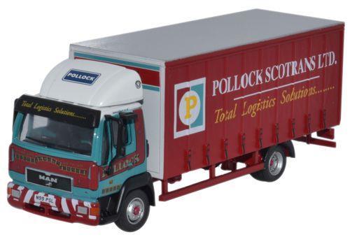 Pollock MAN L200 - Oxford Diecast OD76MAN001