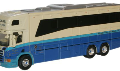 Eric Gillie Scania 380 Horsebox  - Oxford Diecast 76SCA01HB
