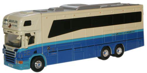 Eric Gillie Scania 380 Horsebox  - Oxford Diecast 76SCA01HB