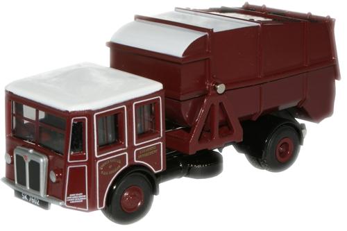 West Lothian Shelvoke & Drewry Dustcart - Oxford Diecast 76SD001