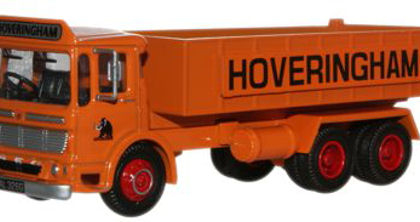 Hoveringham AEC Ergomatic 6 Wheel Tipper - Oxford Diecast 76TIP001