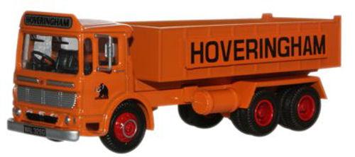 Hoveringham AEC Ergomatic 6 Wheel Tipper - Oxford Diecast 76TIP001