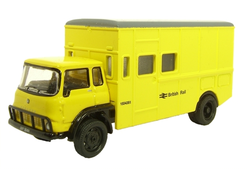 British Rail Yellow Bedford TK Box 1 - Oxford Diecast 76TK002