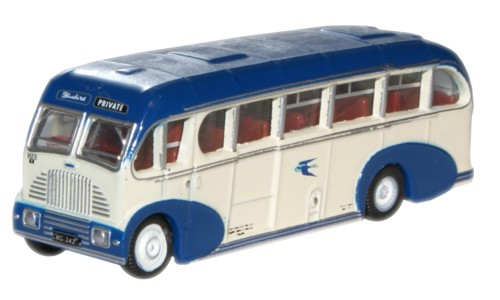 Alexander Bluebird Burlingham Sunsaloon  - Oxford Diecast NBS001