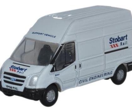 Ford Transit MK 5 LWB Eddie Stobart - Oxford Diecast ODNFT010