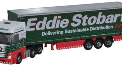 Eddie Stobart Mercedes Actros Curtainside  - Oxford Diecast NMB001