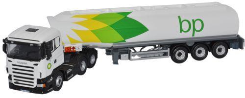 BP Tanker Scania Cab -Oxford Diecast SHL01TK