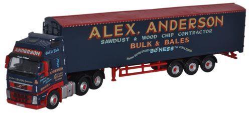 Alex Anderson Volvo FH Walking Floor - Oxford Diecast VOL01WF