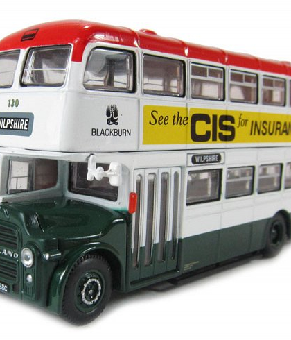 Blackburn Borough Transport Leyland PD3 East Lancs  - WILPSHIRE - Corgi Collectables OM41114B