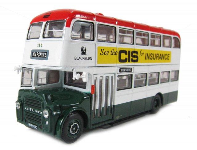 Blackburn Borough Transport Leyland PD3 East Lancs  - WILPSHIRE - Corgi Collectables OM41114B