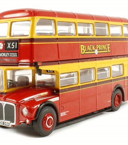 "Black Prince Routemaster ""X51 Morley Fountain Inn via Elland Road"" - Corgi Collectables OM46308A"