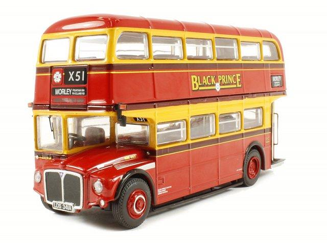 "Black Prince Routemaster ""X51 Morley Fountain Inn via Elland Road"" - Corgi Collectables OM46308A"
