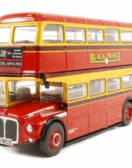 "Black Prince Routemaster ""63B Royal Armouries via Arndale University City Square"" - Corgi Collectables OM46308B"