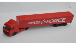 Parcel Force Volvo Artic lorry – LLedo Promovers 1
