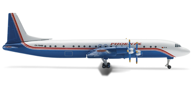 Phoenix Aviation Ilyushin IL-18 – Herpa 514910 1