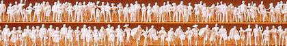 Unpainted Figures (120) N Gauge  - Preiser 79008