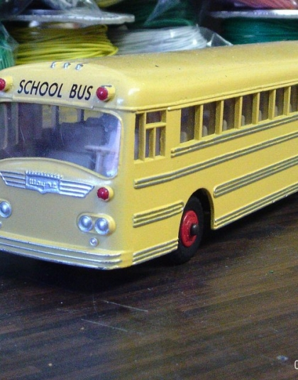 American Wayne School Bus - Refirbished Dinkey Toy