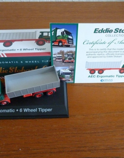 Eddie Stobart AEC Ergomatic Tipper - Atlas edition new unopened
