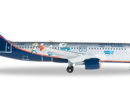 Aeroflot Airbus A320 Sochi Special -  Herpa 524407