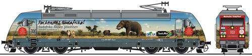DBAG BR101 087-5 Sudafrika Electric Loco VI (DCC-Sound) - Fleischmann 735574  NEW