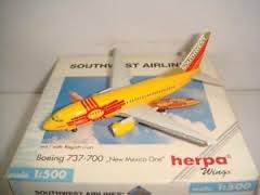 Southwest Airlines 'New Mexico One'  Boeing 737-700 - Herpa 512534
