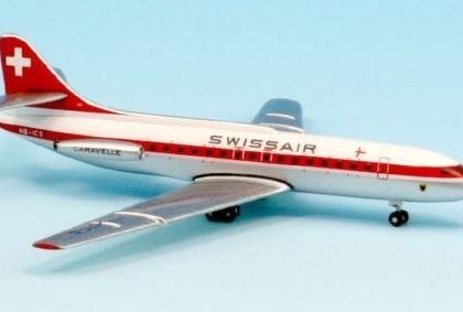 SWISSAIR SUD SE-210 CARAVELLE HB-ICS - Inflight 500 IF5210003