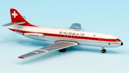 SWISSAIR SUD SE-210 CARAVELLE HB-ICS - Inflight 500 IF5210003