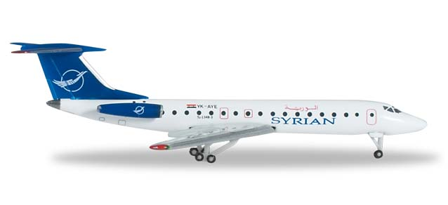 Syrian Air Tupolev TU-134B-3 - 524988