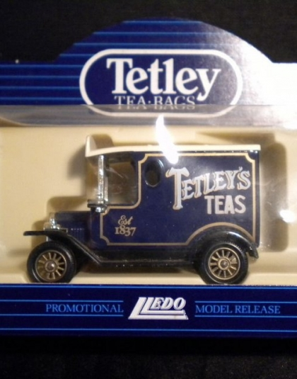Tetley Tea Van Ford Model T Van - Lledo