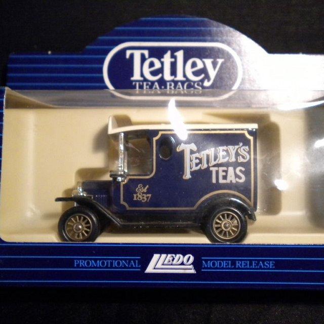 Tetley Tea Van Ford Model T Van – Lledo 1