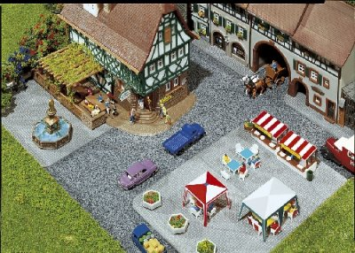 Pavement Tiles N Gauge - 272540