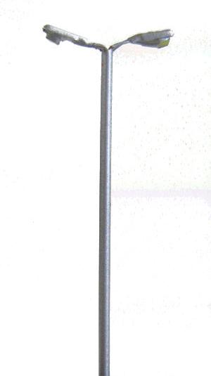 Street lights Modern Double Head  (Set of 4) LED - TrainSave TSV254
