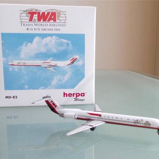 TWA MD-82 – Herpa 511247 1