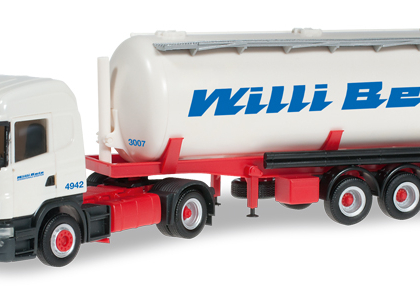 "Scania R HL silo trailer ""Willi Betz"" - Herpa 303569"