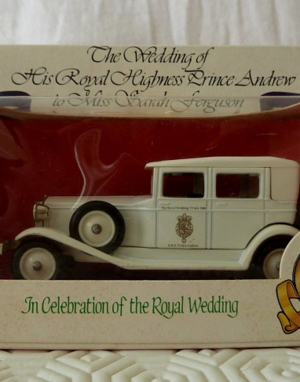 Wedding Car Prince Andrew & Sarah Ferguson - Lledo