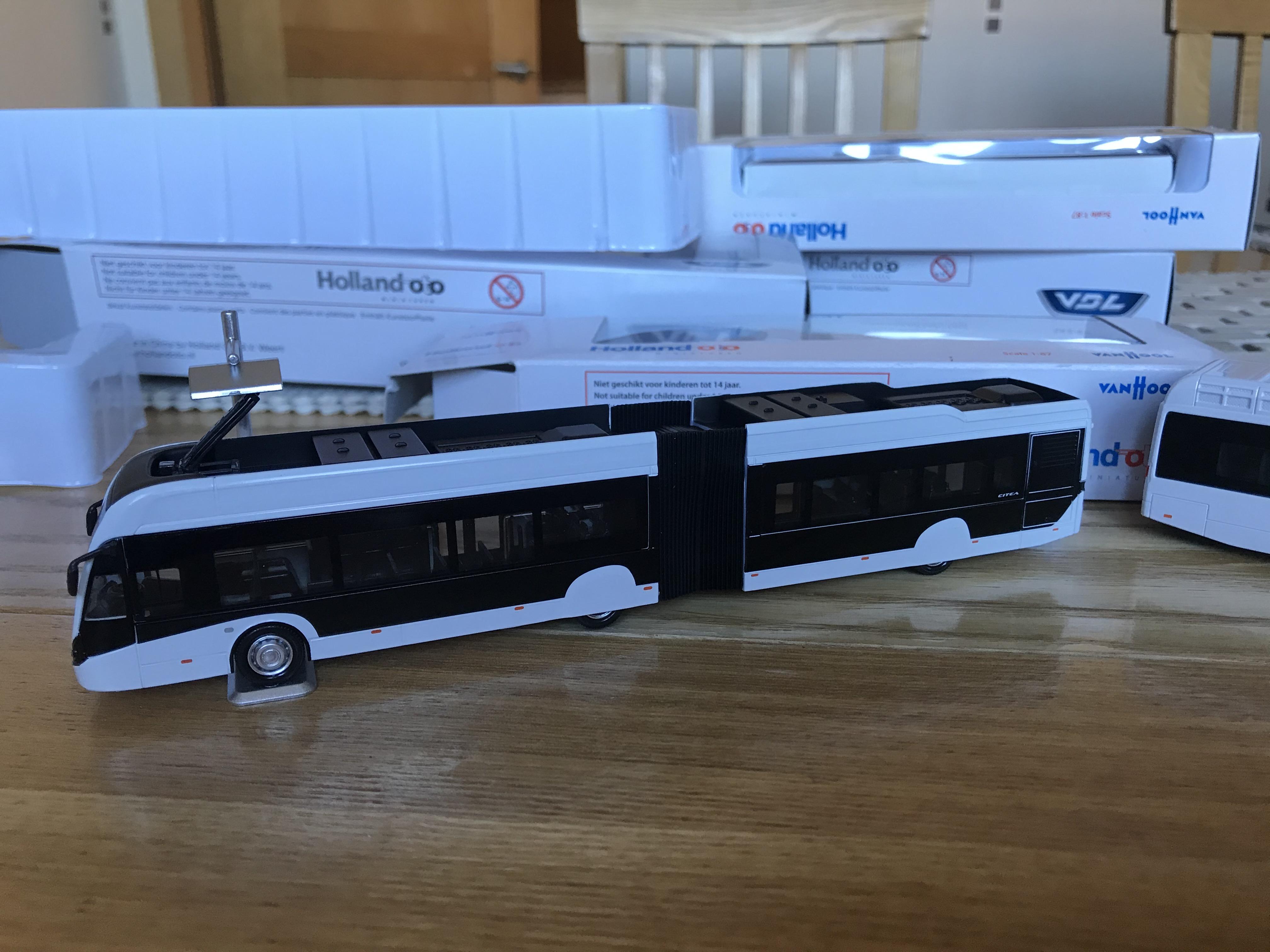 VDL Citea slfa 181 Electric blanco con mástil de carga-Holland Oto 8-1196